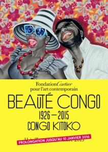 affiche expo beaute congo