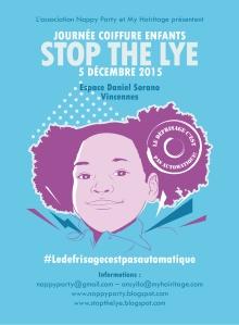 Flyer-stop the lye