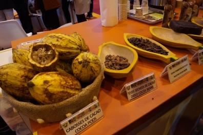 Dégustation et vente de chocolat et café de la Côte-d'Ivoire